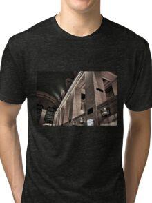 Grand Central Terminal Columns Tri-blend T-Shirt