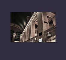 Grand Central Terminal Columns Womens Fitted T-Shirt