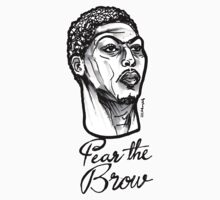 Fear the Brow by sketchNkustom