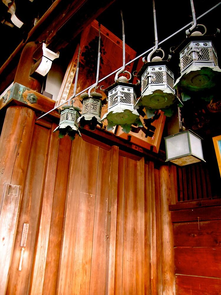 nara lanterns V by geikomaiko