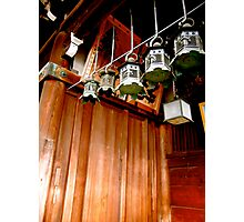 nara lanterns V Photographic Print