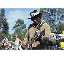 Bo Diddley @ 2JJJ Concert, Mount Druitt, 1981 Photographic Print