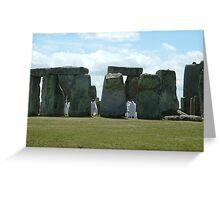 Stonehenge experience Greeting Card