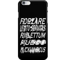 Dresden Files - Spells iPhone Case/Skin