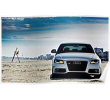 Audi A4 Poster