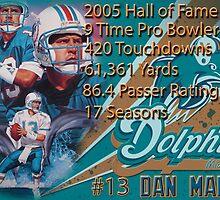 Dan Marino Career Stats  by MadManHolleran
