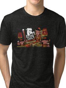 '6 fifths' Dessert Barleywine illustration Tri-blend T-Shirt