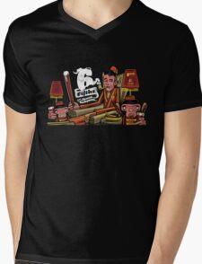 '6 fifths' Dessert Barleywine illustration Mens V-Neck T-Shirt