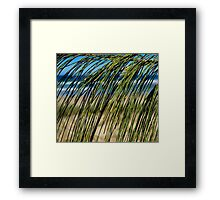 Beach Screen Framed Print