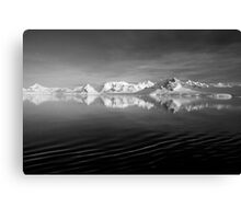 Sunset over the Neumayer Channel, Antarctica - Number three mono Canvas Print