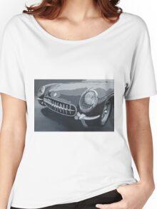 Chevrolet Corvette 1954 Women's Relaxed Fit T-Shirt