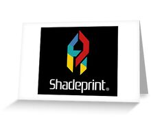 Play Shadeprint Logo Greeting Card