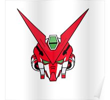 Gundam head - red Poster