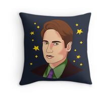 Mulder Yes Throw Pillow