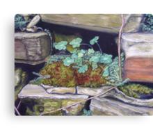 Mossy Nook Canvas Print