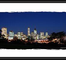 City of Perth at Dusk by hibbo04