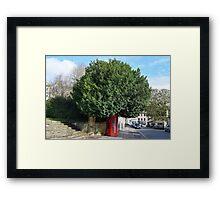 Telephone Tree Framed Print