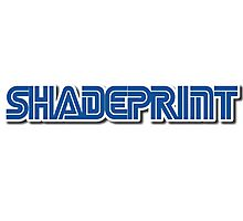 Sh4de Print Gaming Logo. Photographic Print