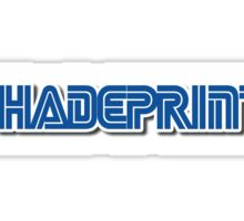 Sh4de Print Gaming Logo. Sticker