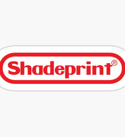 Shadeprint Entertainment Computers. Sticker