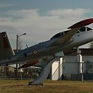 Fouga Magister, Bordeaux, France, Europe 2012 by muz2142
