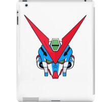 Gundam head - blue iPad Case/Skin