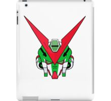Gundam head - Green iPad Case/Skin
