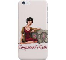 Companion's Cube iPhone Case/Skin