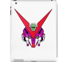 Gundam head - purple iPad Case/Skin