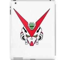 Gundam head - white iPad Case/Skin