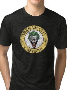 Arkham City Asylum Tri-blend T-Shirt