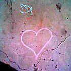 chalk heart by Jennifer  Hammann