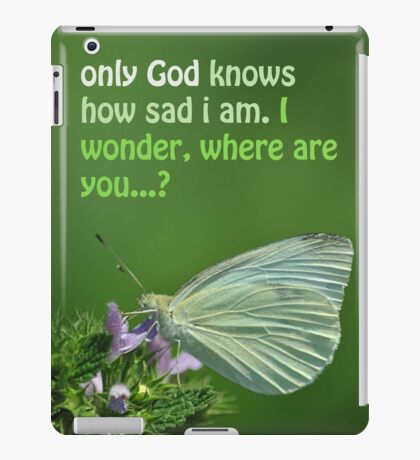 Sadness iPad Case/Skin