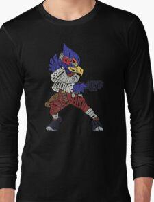 That Ain't Falco!   Falco Typography Long Sleeve T-Shirt