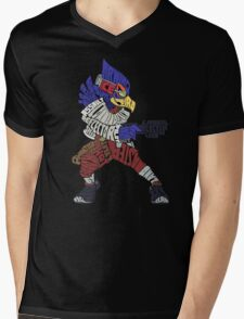 That Ain't Falco! | Falco Typography Mens V-Neck T-Shirt
