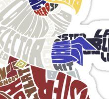 That Ain't Falco! | Falco Typography Sticker