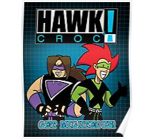 Hawk & Crocdown! - 1999 Poster