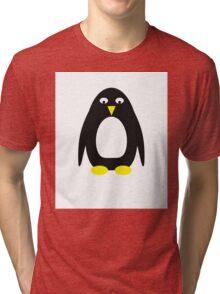Simple cute penguin  Tri-blend T-Shirt