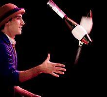 The juggler by Mili Wijeratne