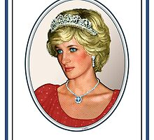 Diana Princess of Wales  by Everett Day