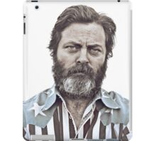 Ron Swanson (Nick Offerman) - An American Hero iPad Case/Skin
