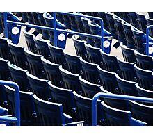 Empty Seats Photographic Print