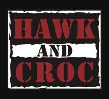 Hawk & Croc is War by psychoandy