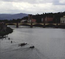 A True Florentine View by Megan Buff
