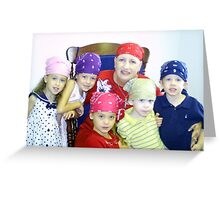 Bandana Brigade Greeting Card