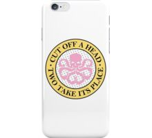 Hydra for ice cream lovers (badge) iPhone Case/Skin