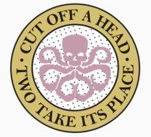 Hydra for ice cream lovers (badge) Kids Tee