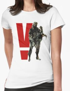 Metal Gear Solid V - Big Boss Womens Fitted T-Shirt