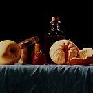 La lavande rouge by marcelfineart