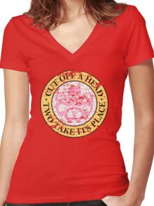 Hydra for ice cream lovers Women's Fitted V-Neck T-Shirt
